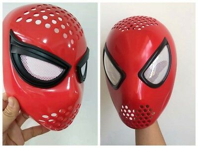 US SHIP The Amazing Spider-Man 2 Spiderman Faceshell With Lenses Props costume