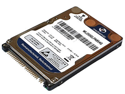 320GB Ide MEDIMAX 2,5 Pulgadas Interno Disco Duro UDMA-133 P-Ata 8MB Nuevo