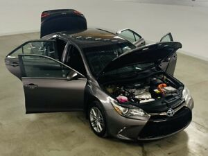 2015 Toyota Camry Hybrid SE Mags*Cuir/Tissus*Camera Recul*