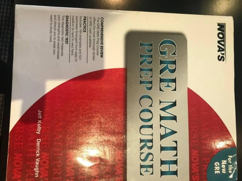 12 X Gre Test Books 30 Textbooks Gumtree Australia Ku Ring Gai