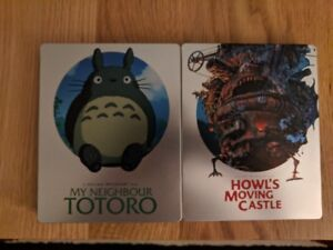 Studio Ghibli Blu-ray Steelbooks
