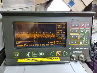 Krautkramer Usn 52r Ultrasonic Flaw Detector