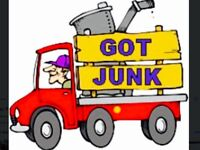 CHAEP JUNK REMOVAL ONLY $49.99 HALF A VAN FULL