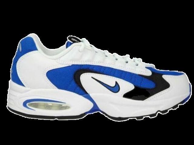 White Nike Air Max Triax Sneakers