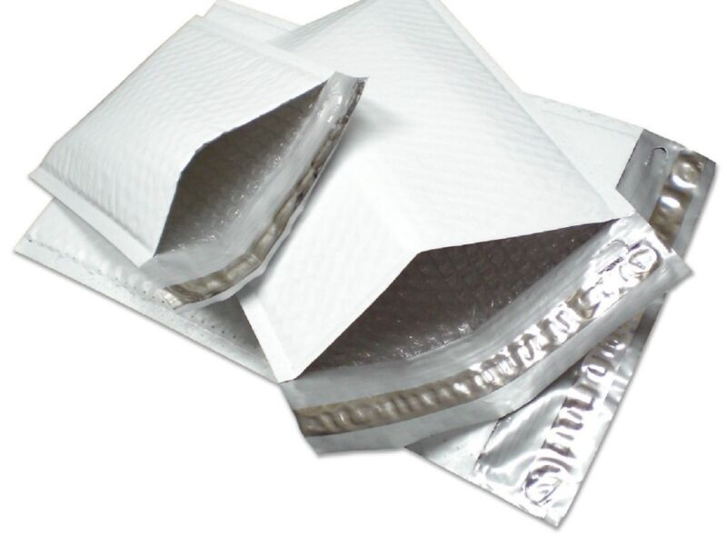 PolycyberUSA  100 pcs #5 Poly Bubble Envelopes Mailers 10.5 X 16 (Inner 10.5x15)
