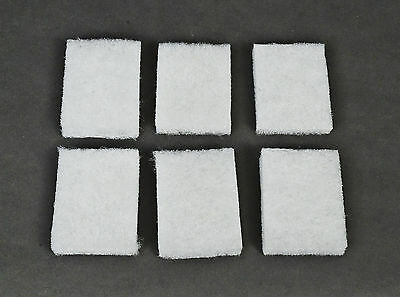 "6x) Algae Remover Scrubber Pad for Acrylic and Glass Aquariums by CPR, 3"" x 4"""