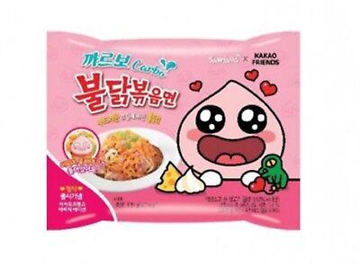 Samyang     Carba Hot Spicy Noodle Chicken Ramen Food 130g x 3ea