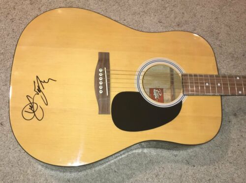 ART GARFUNKEL SIGNED AUTOGRAPH SIMON AND FULL SIZE ACOUSTIC GUITAR w/RARE PROOF