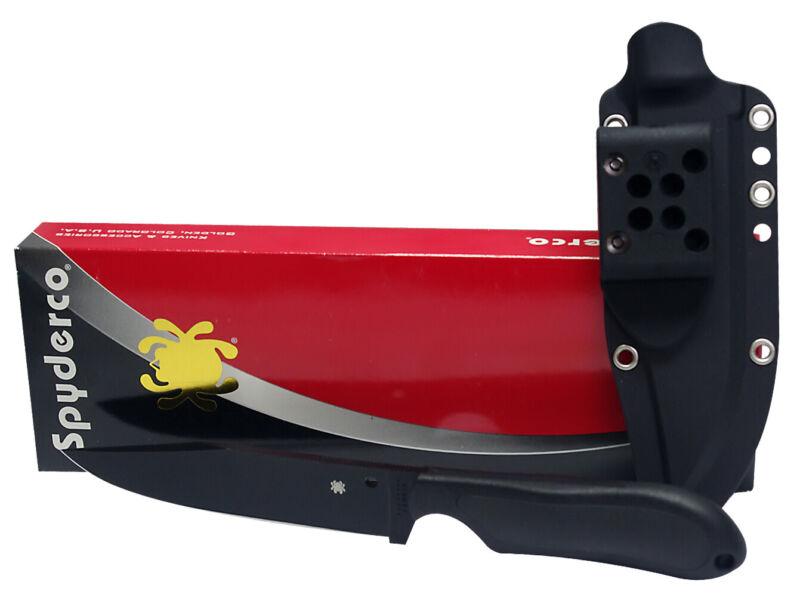 Spyderco perrin vg10 black blade frn handles knife FB04PBB NEW