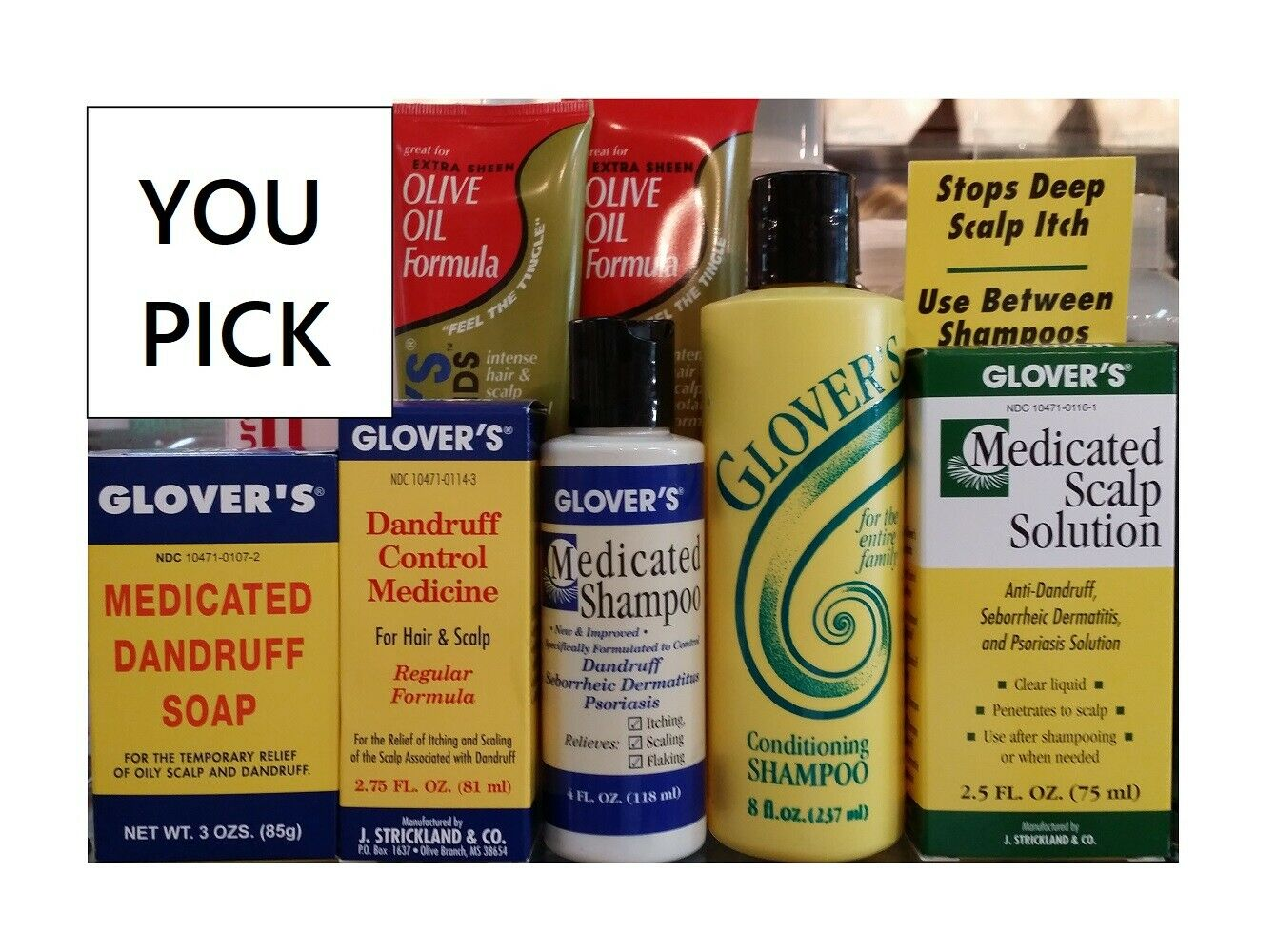 glover s hair care products you pick