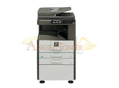 Sharp Mx M356n Black And White Laser Printer Copier Scanner 35ppm A3