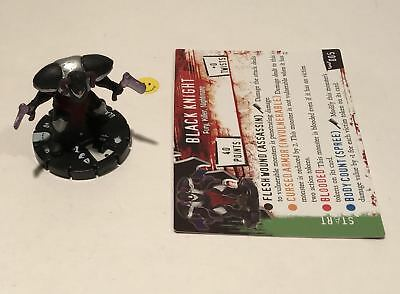 Horrorclix Nightmares Black Knight #005 with Card NEW from Booster Pack