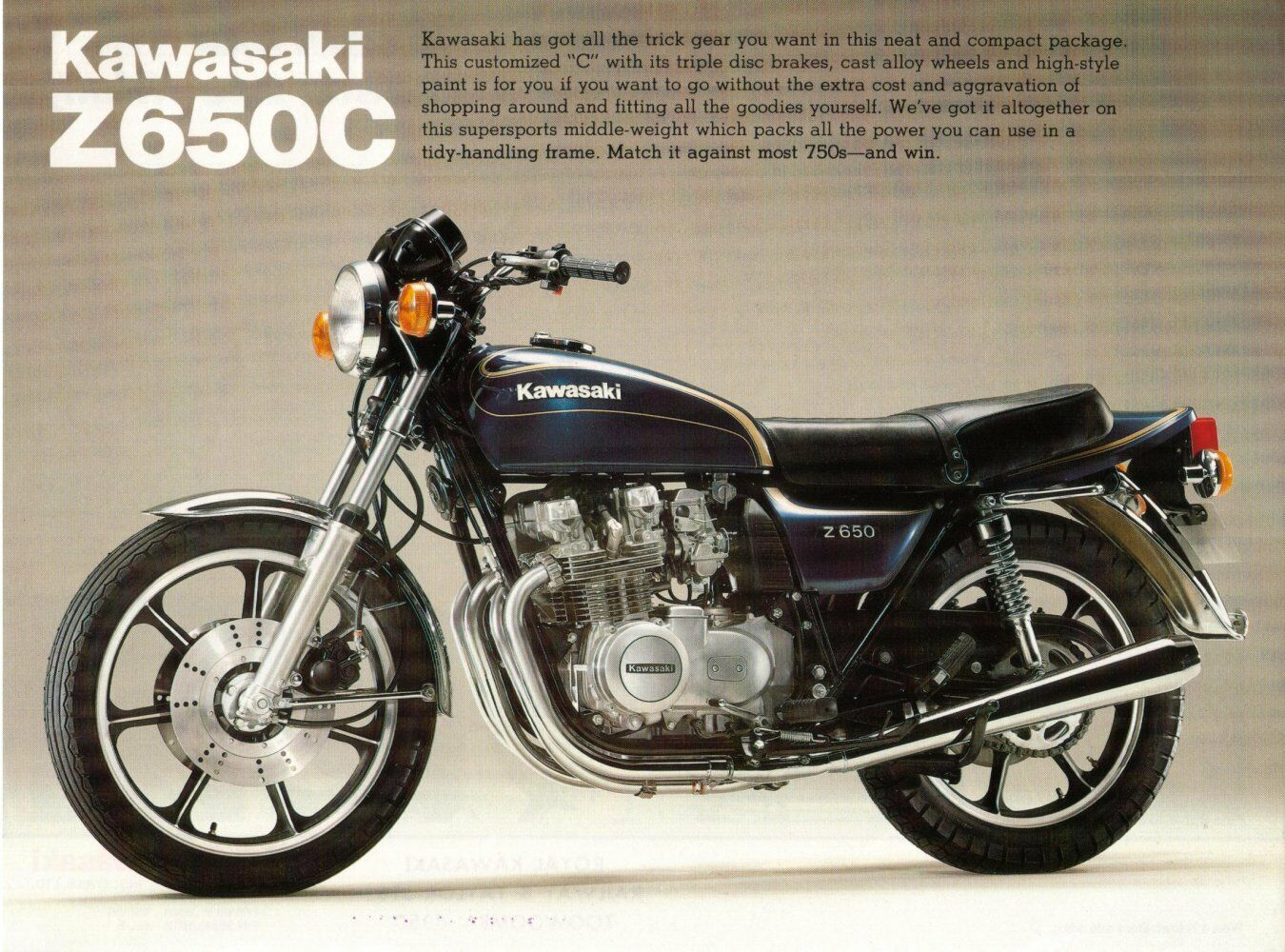 Kawasaki Z650 Wiring Diagram Electrical Diagrams Harness Restorers Guide Kz650 Part List Cd Tuning Carbs Motorcycle