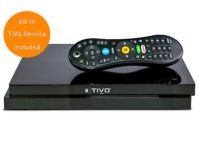 TiVo EDGE DVR Streaming Media Player for Antenna 2 Tuners 500GB Storage RD6F50LS