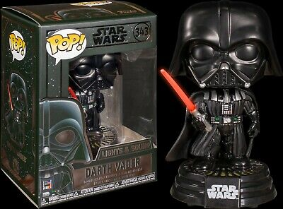FUNKO® Star Wars™ - Darth Vader #343 Lights & Sound Pop! Vinyl - NEAR MINT 9/10