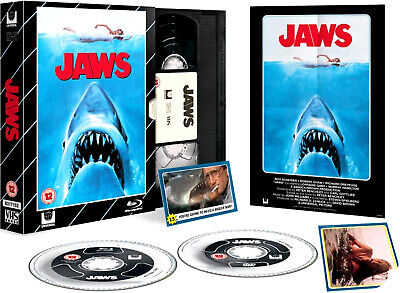 Jaws - Limited Edition VHS Collection DVD + Blu-Ray