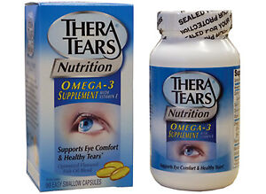theratears dry eye nutrition 90 capsules omega 3 thera