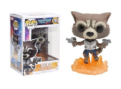 Funko Pop Marvel Guardians of the Galaxy Vol. 2: Rocket Vinyl Bobble-Head
