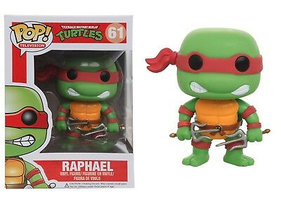 Ninja Turtles Pop (Funko Pop TV: Teenage Mutant Ninja Turtles - Raphael Vinyl Figure Item #3343)
