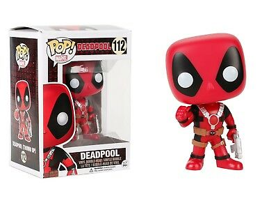 Funko Pop Marvel: Deadpool - Deadpool Vinyl Bobble-Head Item #7487