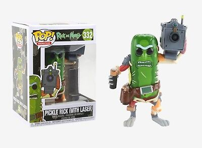 Funko Pop Animation: Rick and Morty - Pickle Rick (w/ Laser) Vinyl Figure #27862