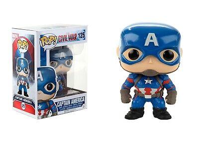 Funko Pop! Marvel: Captain America Civil War Vinyl Action -