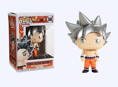 Funko Pop Animation: Dragon Ball Super - Goku (Ultra Instinct) Figure #31633