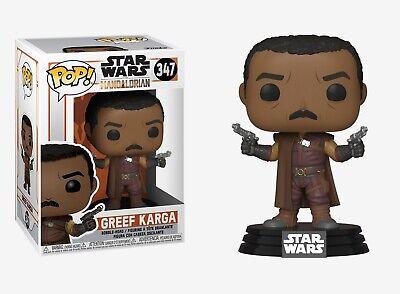Funko Pop Star Wars™ The Mandalorian: Greef Karga Bobble-Head #45539