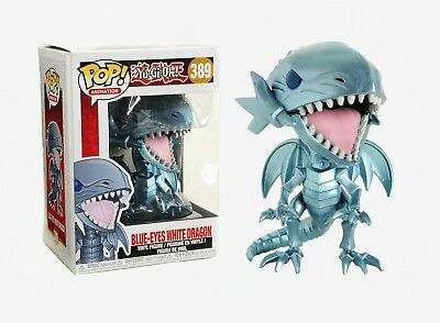 Funko Pop Animation: Yu-Gi-Oh! - Blue-Eyes White Dragon Vinyl Figure Item #27451