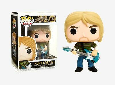 Funko Pop Rocks: Kurt Cobain Vinyl Figure Item #24777
