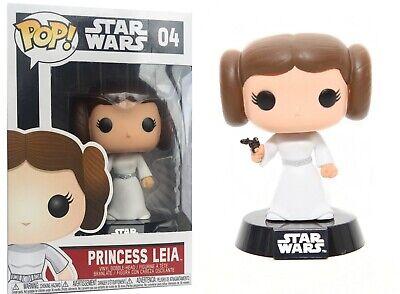 Funko POP Movie: Star Wars Princess Leia Bobble Head Vinyl F