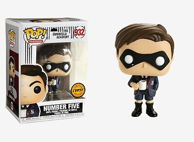 Funko Pop Television: The Umbrella Academy - Number Five Chase Limited Edition