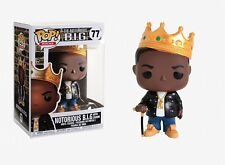 Funko Pop Rocks: The Notorious B.I.G. - Notorious B.I.G. with Crown Vinyl Figure