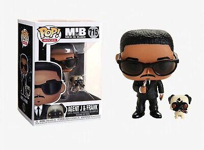 Mens Black Figure - Funko Pop Movies: Men in Black - Agent J & Frank Vinyl Figure Item #37664