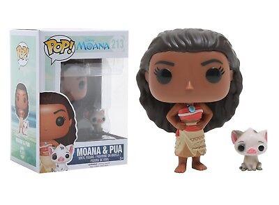 Funko POP Disney 213 Moana Moana & Pua Vinyl Figure