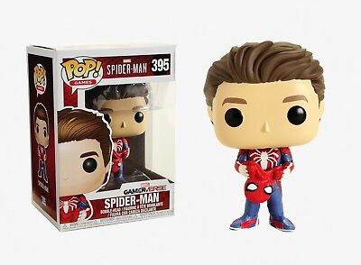 Funko Pop Games: Marvel Spider-Man - Spider-Man Vinyl Bobble-Head #30633