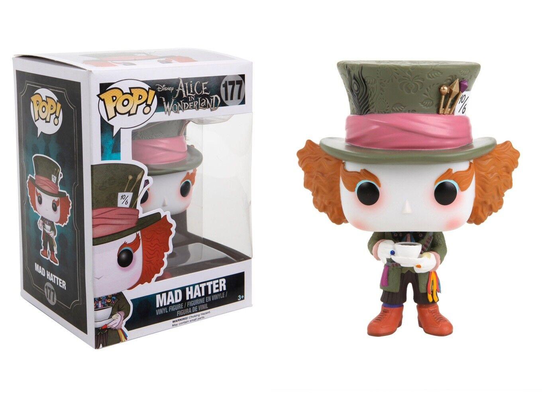 Mad Hatter #181 Vinyl Action Figure New In Box POP Disney Funko Alice 2