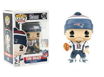 Funko Pop NFL Football Wave 3 Patriots Tom Brady Vinyl Colle