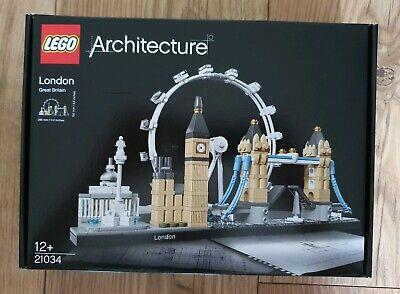 FREE UK POST - LEGO Architecture London Skyline Building Set 21034 - BNIB