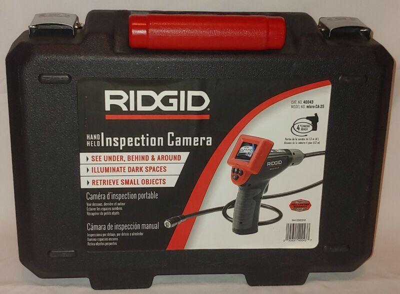 RIDGID 40043 Model micro CA-25 Hand Held Borescope Inspection Camera 4