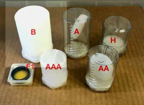 """3 Telescope Eyepiece Cases - 51mm ID wide, up to 3"""" - 5"""" Tall  Size B"""