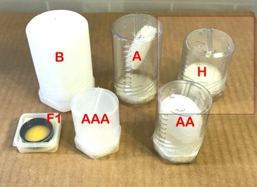 """3 Telescope Eyepiece Cases - 42mm ID wide, up to 2"""" - 3"""" Tall  Size H"""