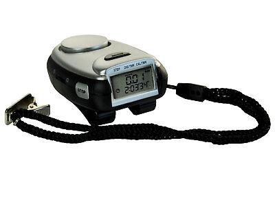 Schrittzähler Entfernungsmesser Distanzzähler Kalorienzeller Stoppuhr