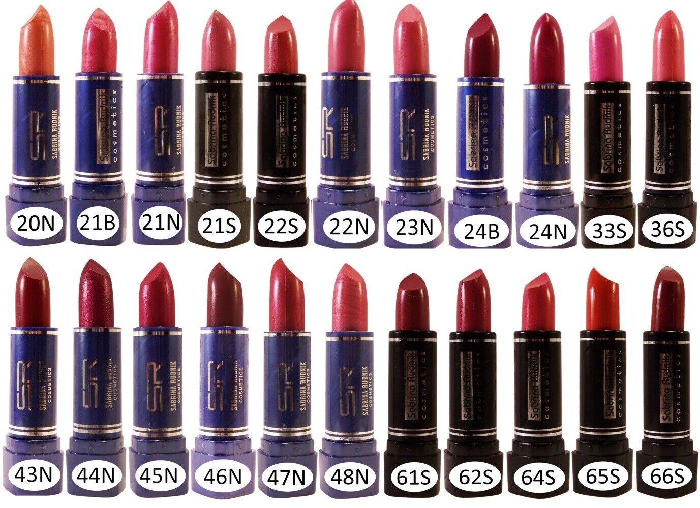 Lippenstift Lipstick Lippenpflege Lippenbalsam Braun Orange Rosa Rot Lila  20-66