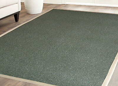 Polypropylene Rug with Cotton Border 4' x 6' Border Polypropylene Rug