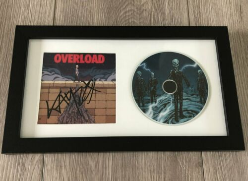 DJ KAYZO SIGNED AUTOGRAPH OVERLOAD FRAMED & MATTED CD DISPLAY w/EXACT PROOF