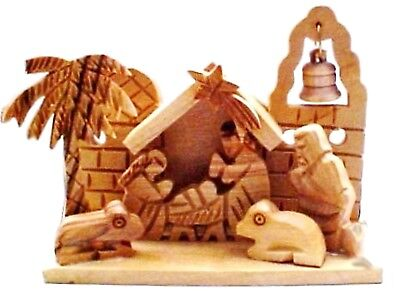 Miniature Olive Wood Nativity from -