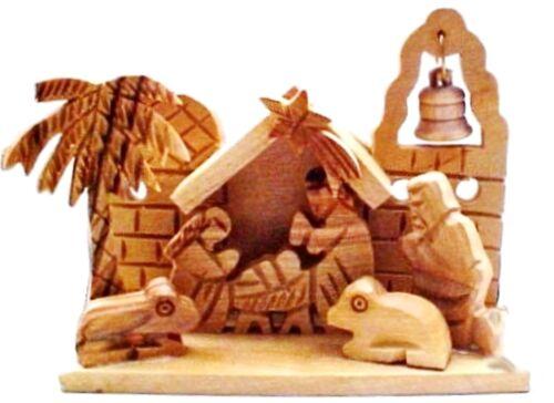 Miniature Olive Wood Nativity from Bethlehem