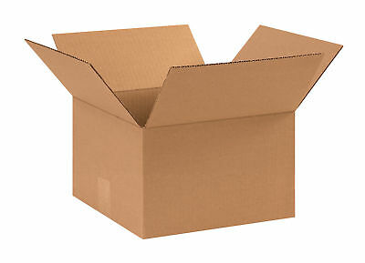 50 11x11x6 Cardboard Shipping Boxes Flat Corrugated Cartons
