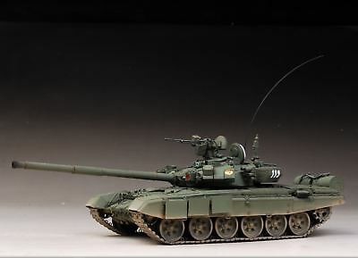 Used, Built Trumpeter 1/35 T-90 Cast Turret Main Battle Tank+PE,3 Days To Go for sale  Scarborough